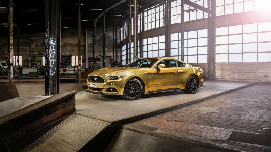 Gylden Ford Mustang