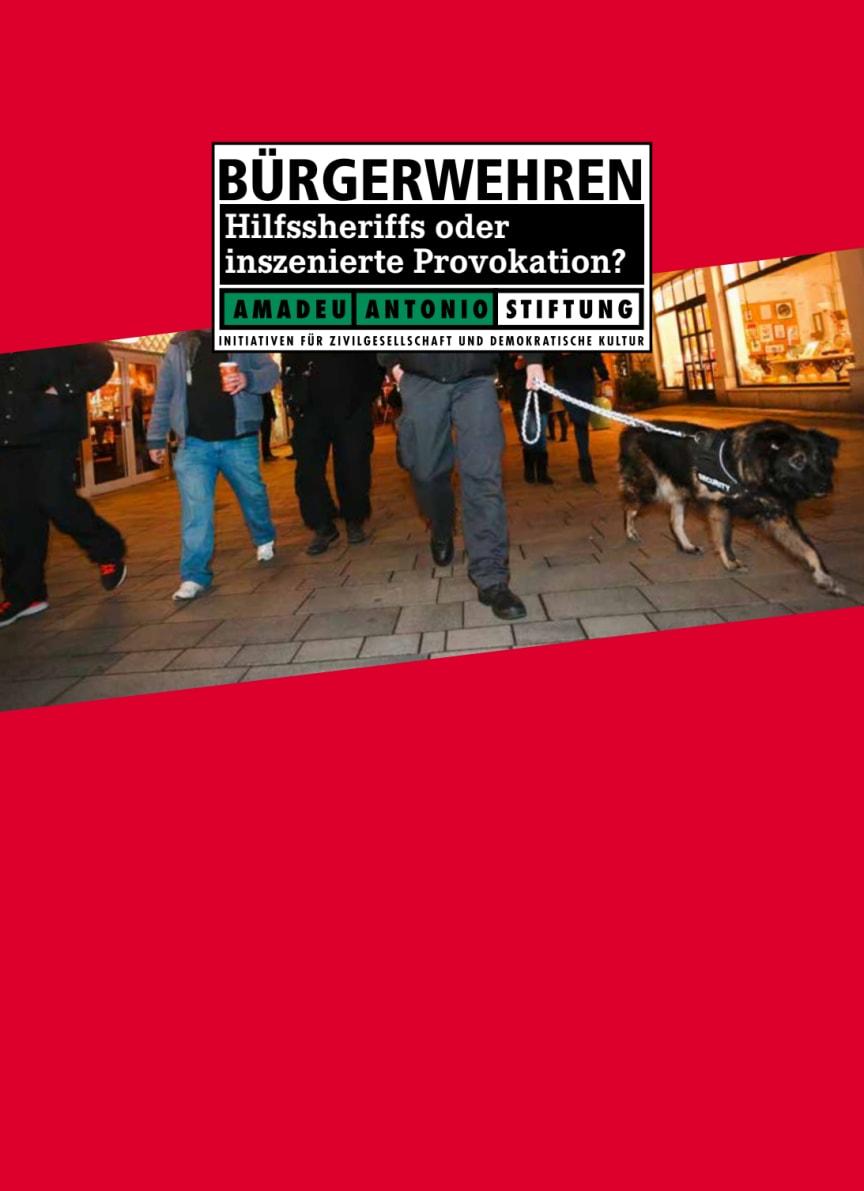 Bürgerwehren: Hilfssheriffs oder inszenierte Provokation?