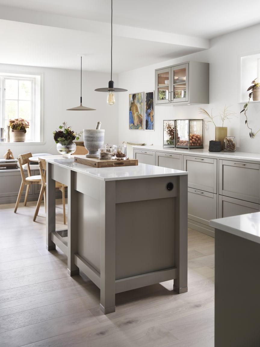Drømmekjøkkenet Gastro Varmgrå