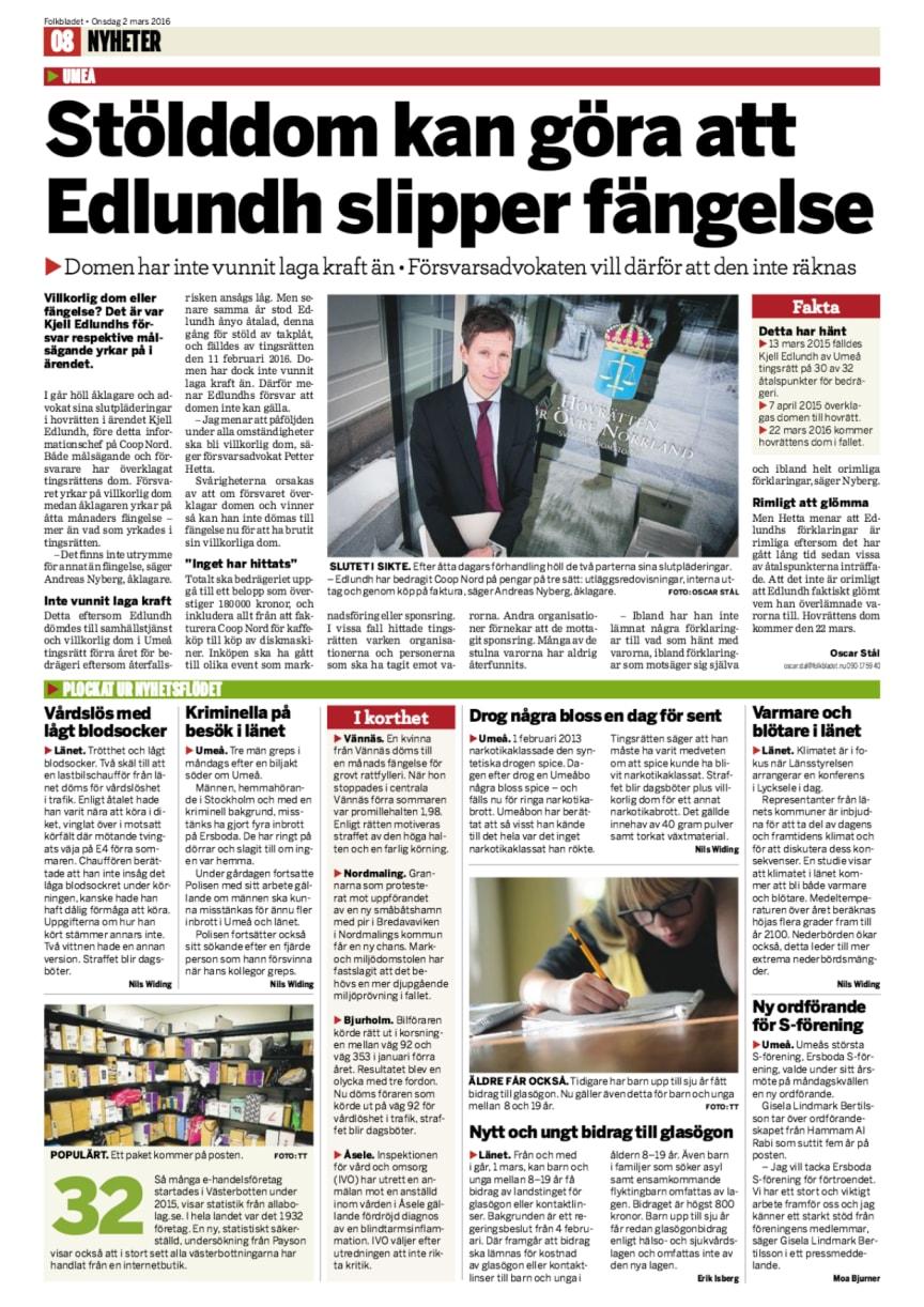 Så många e-handelsföretag startades i Västerbotten under 2015