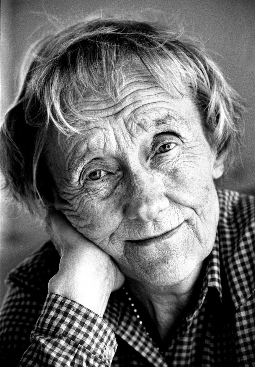 Astrid Lindgren porträtt