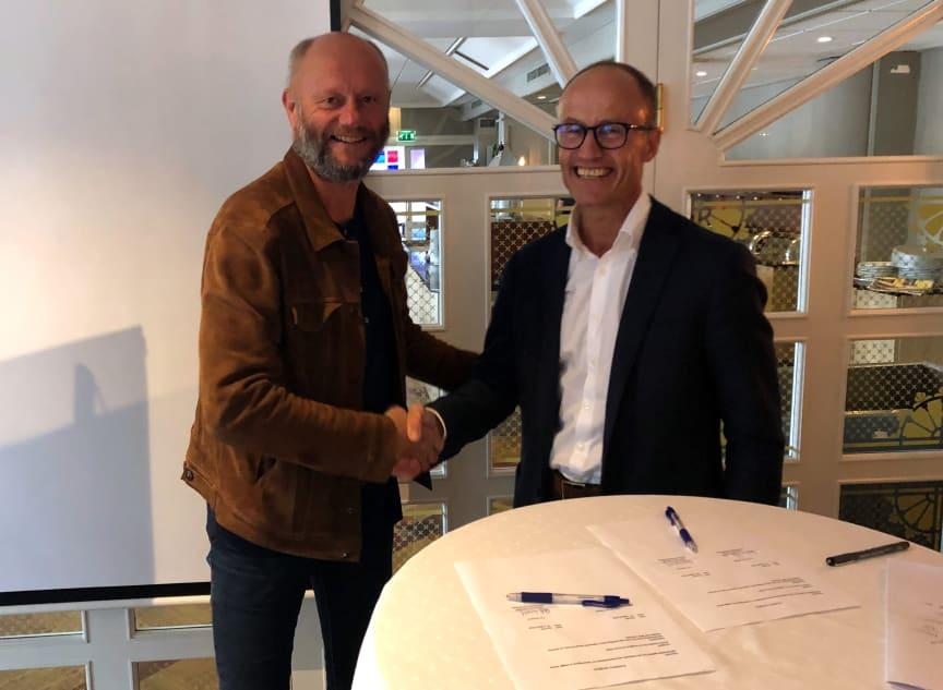 Stein Lier-Hansen og Nils Kristian Nakstad