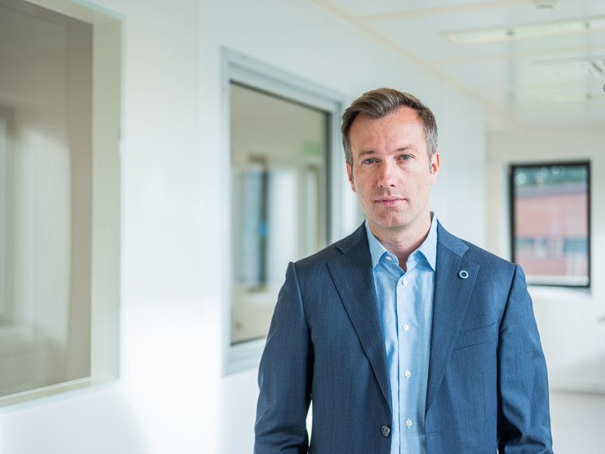 Ulf Hannelius, CEO Diamyd Medical