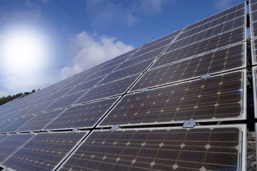 Symbolbild Erneuerbare Energien - Photovoltaik