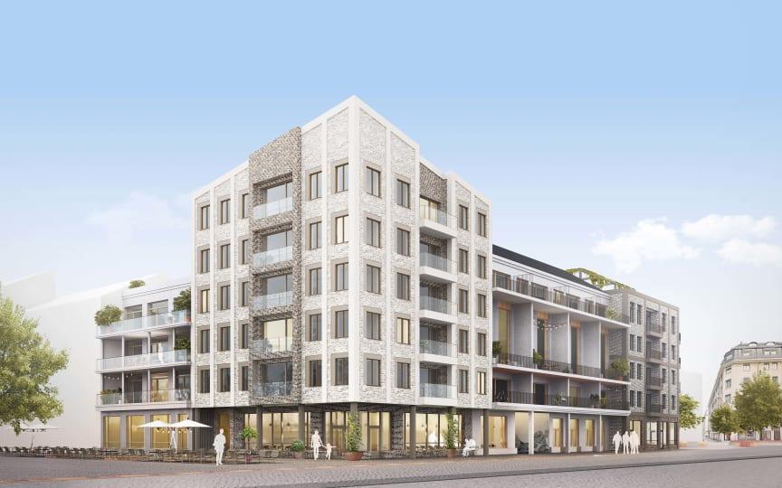 Hökerum Bygg bygger i Västerport i Varberg 2