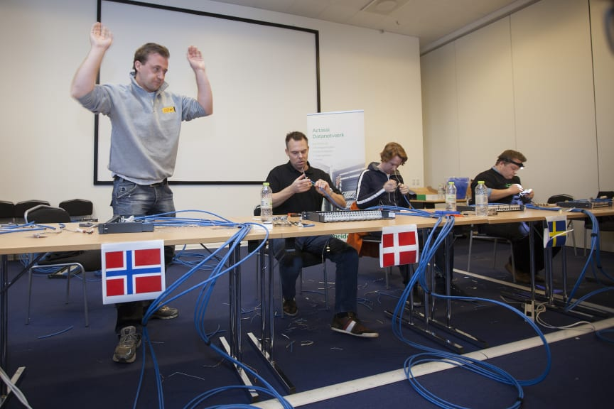 Thomas A. Weiby blir nordisk mester i Actassi S-1 konnektering