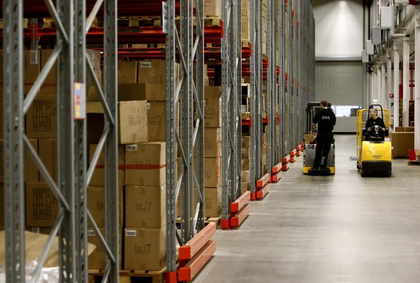 Blue Integrator, warehouse and logistics 2