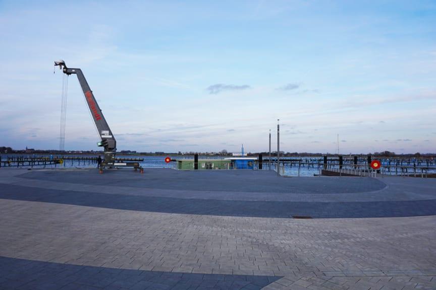 Neuer Yachthafenplatz Burgtiefe