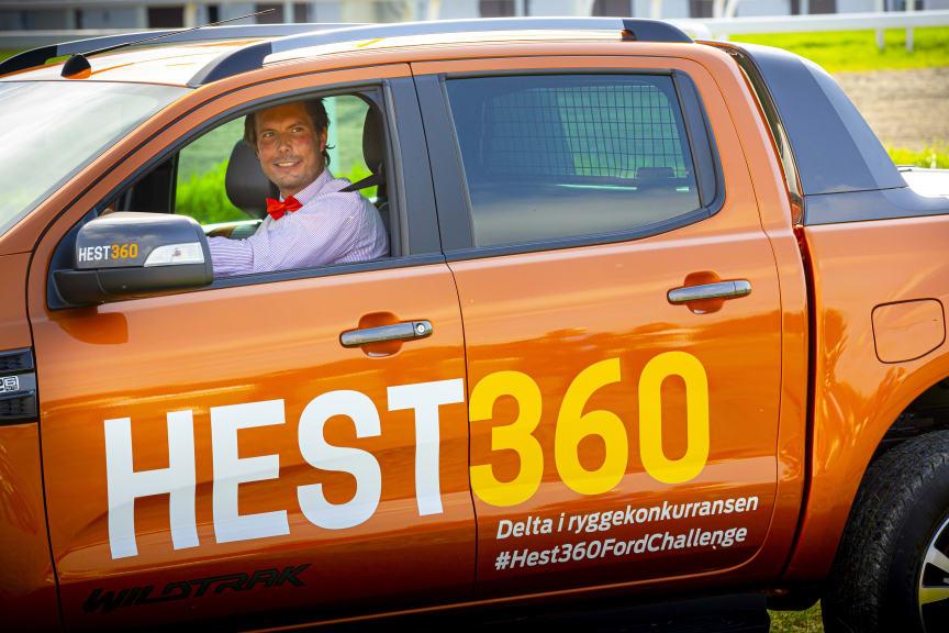 Hest360FordChallenge Ryggekonkurranse Øvrevoll 25.08 2019 Hans Christian Valstad Bærum, Akershus