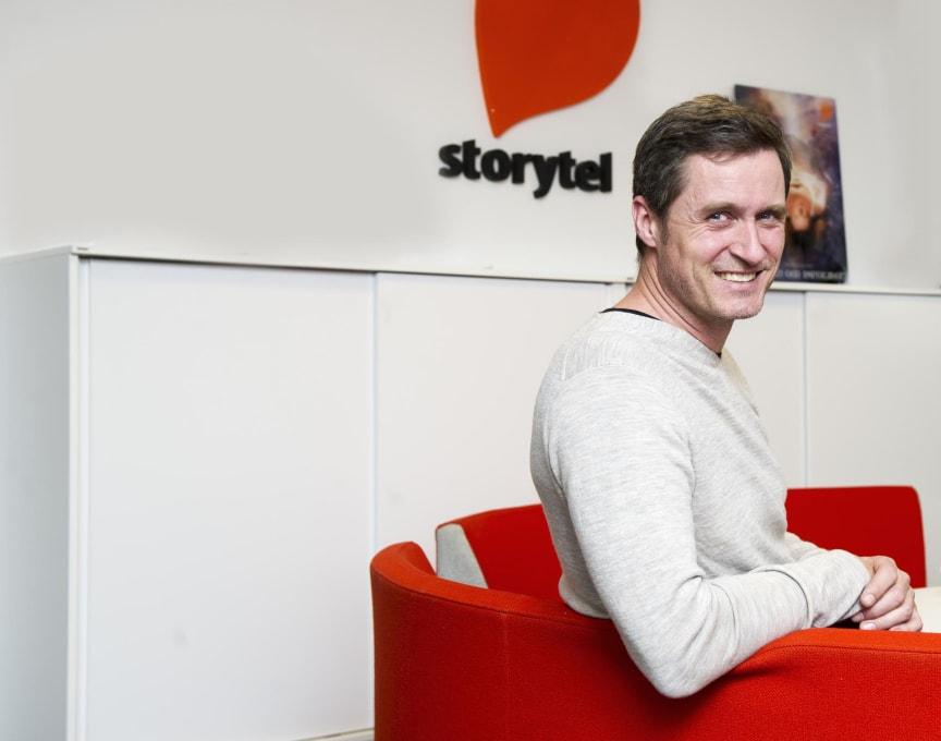 Jonas Tellander, Storytels vd