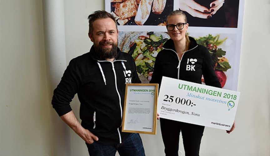 Bryggerikrogen, Nora - vinnare Utmaningen 2018