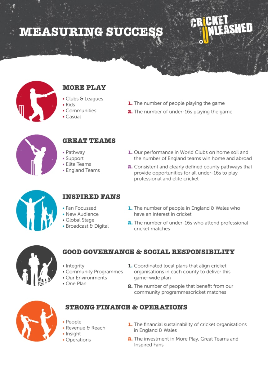 Cricket Unleashed - Summary Sheets
