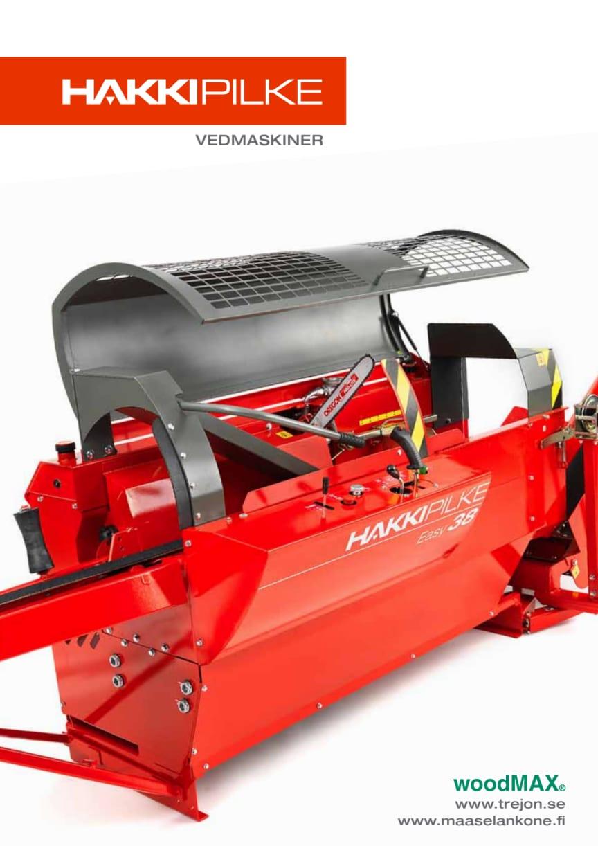 Broschyr woodMAX Hakki Pilke vedmaskiner 2012