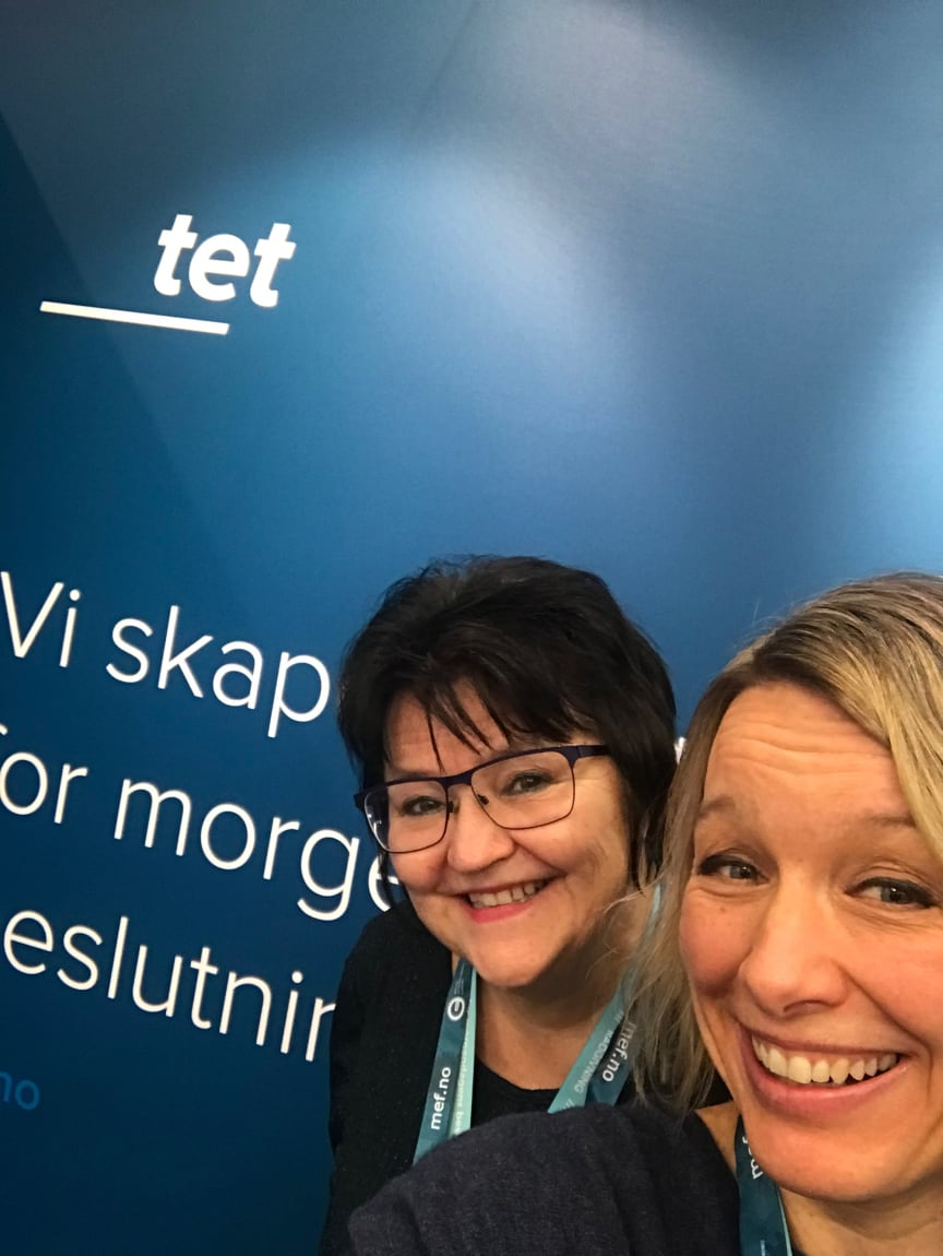 Berit Rongsjord og Patricia Olsson