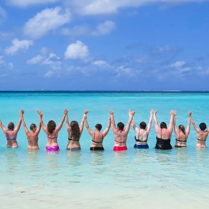 Maldivene nytes
