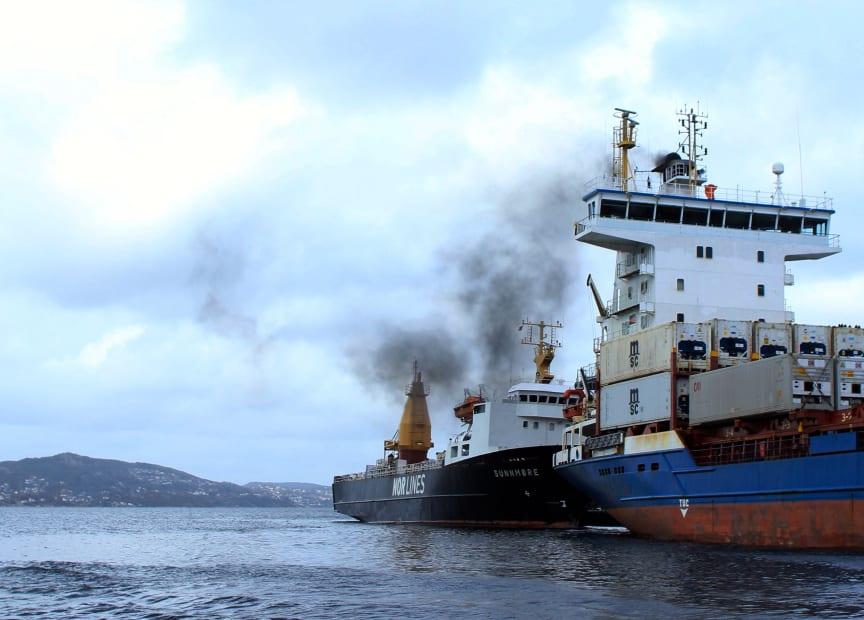Forurensning fra skip i Bergen havn
