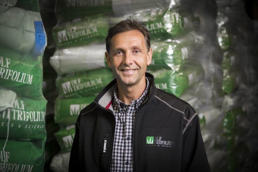 Jack Runge Walther, driftsleder DLF-Trifolium