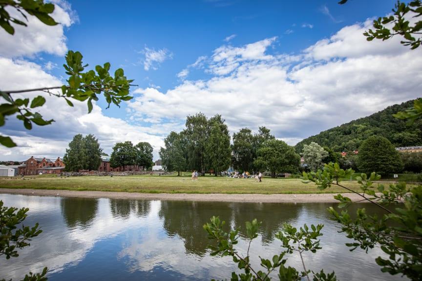 Vannspeilet i Middelalderparken