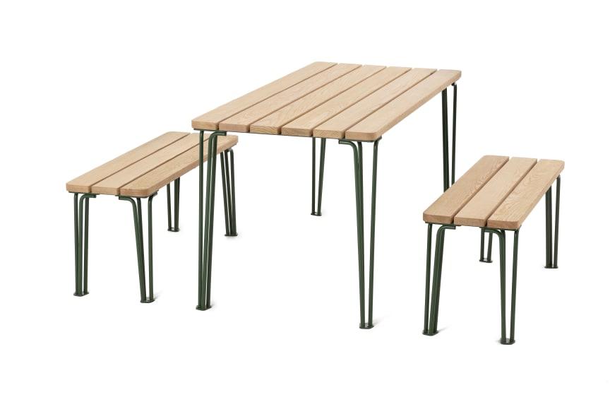 Gard möbelgrupp, design Odin Brange Sollie. Nyhet 2020