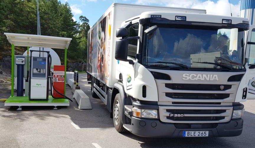 Arla tankstation Kallhäll mejeri 1