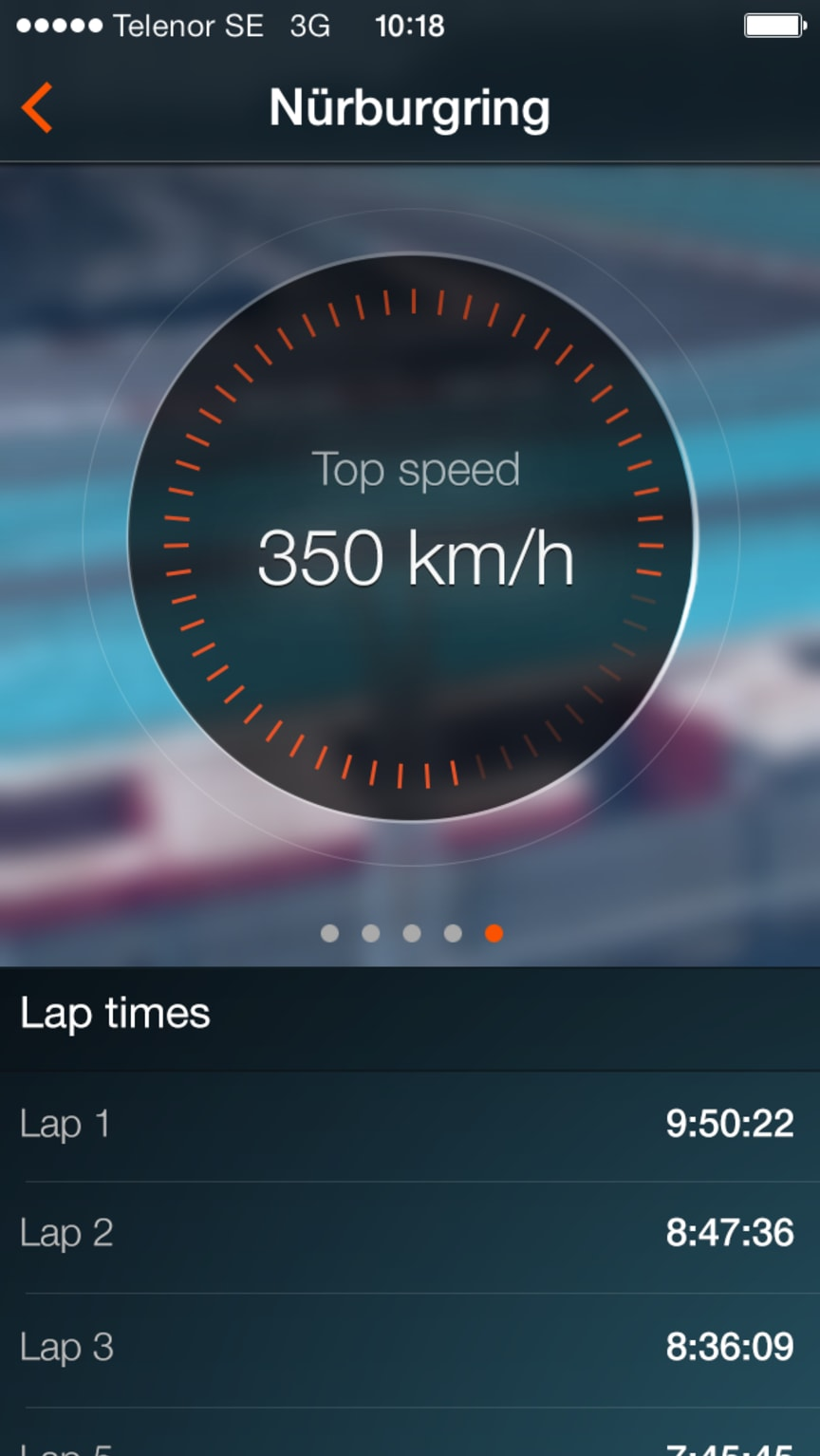 Koenigsegg One:1 app Top Speed
