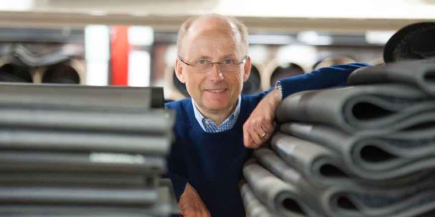 Carl-Johan Björkman startade sitt företag i blygsam skala för 25 år sedan.