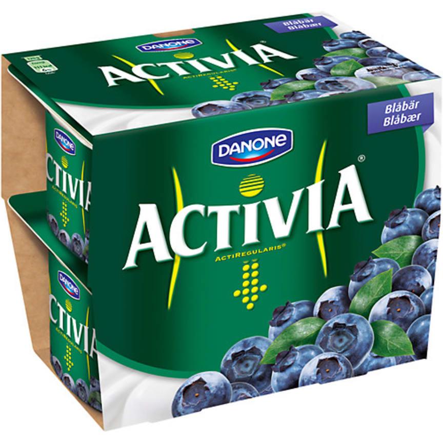 Activia Blåbär