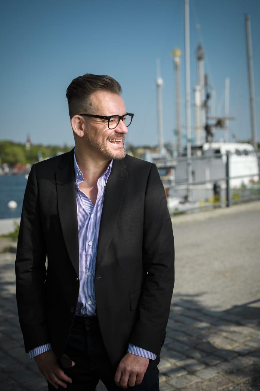 Bart Moeyaert in Stockholm