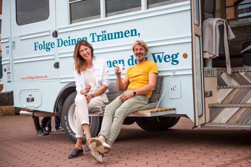 """Elke Göttgens und Frank """"Schmitty"""" Schmitz"""