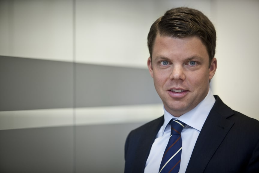 Johan Söör, vd MTR Express