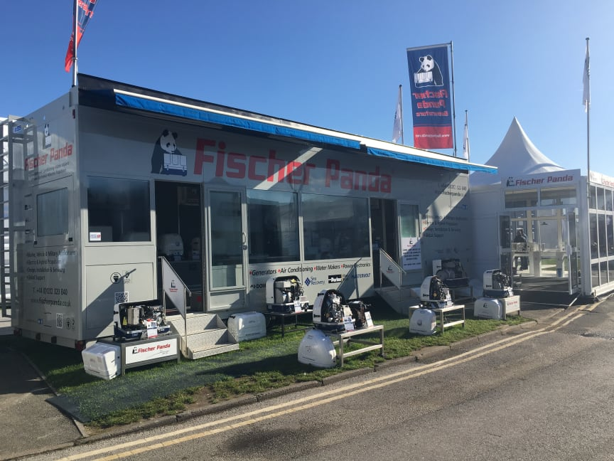Hi-res image - Fischer Panda UK - Fischer Panda UK's display trailer will be at the Verwood headquarters to welcome visitors for appointments at the VIP Showcase Event next week