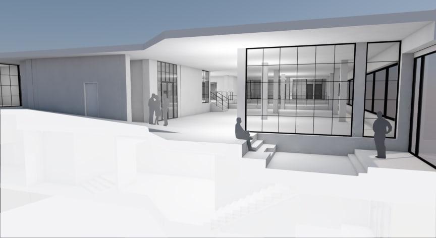 Stockholms första nattklubb byggs om till moderna kontorslokaler (Kungshuset).