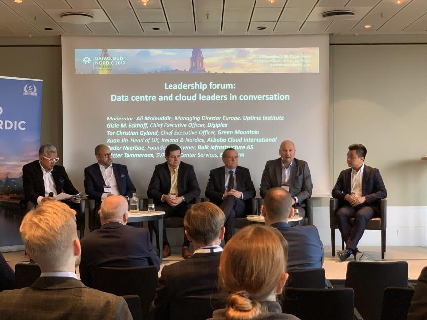 Leadership Panel at Datacloud nordic 2019