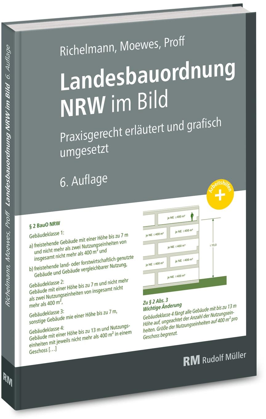 Landesbauordnung NRW in Bild (3D/tif)
