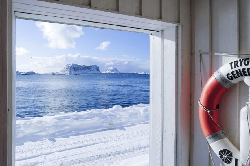 Fiskemottak på Røst - Fish delivery site Røst, Lofoten, Norway