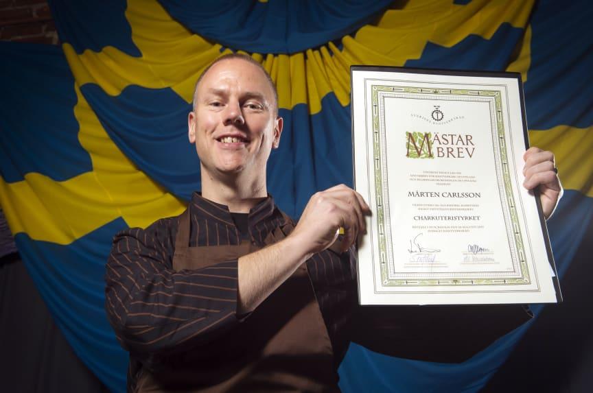 Mårten Carlsson Mästare i Charkuteri 2015