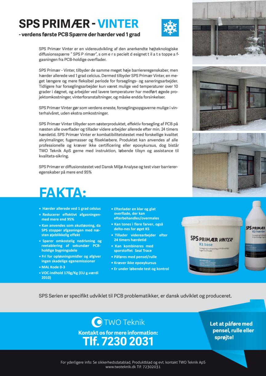 Produktblad SPS Primær VINTER