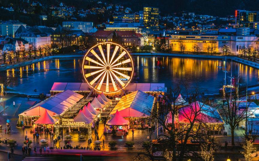 Bergen Christmas market