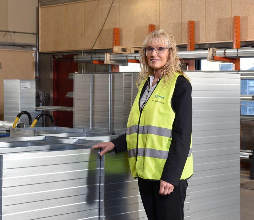 Puk Spencer til åbningen af Lindabs ny fabrik i Hvidovre