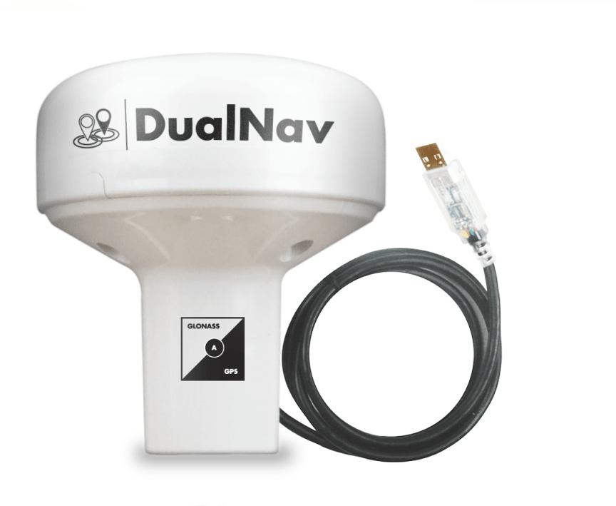 GPS150USB DUALNAV™ GPS/GLONASS SENSOR