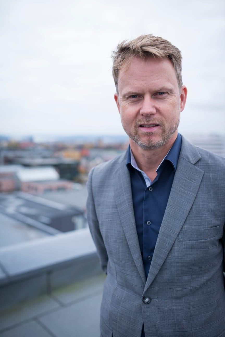Karl Fredrik Lund, leder av Telia Privat