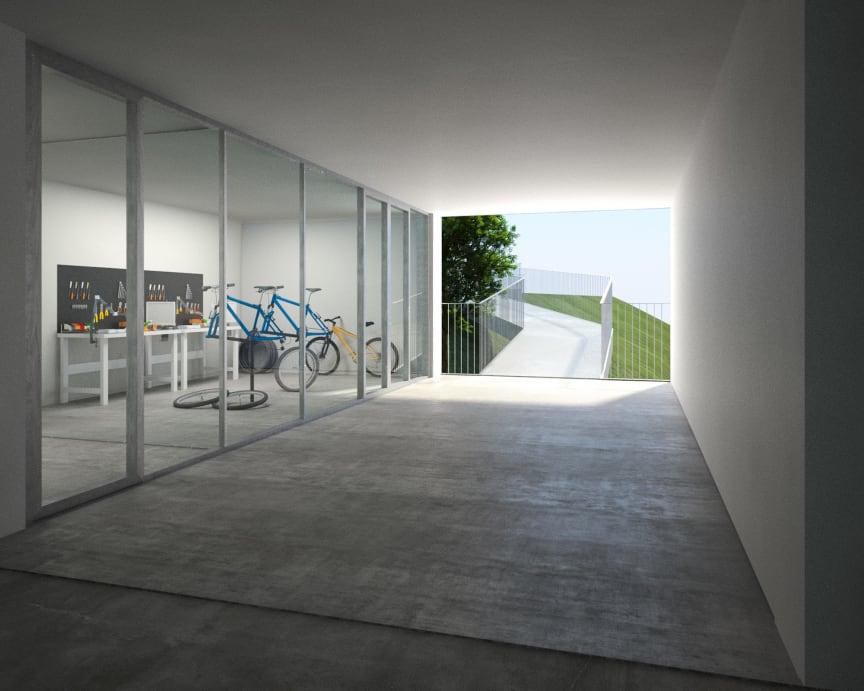 Cykelramp Brf Viva