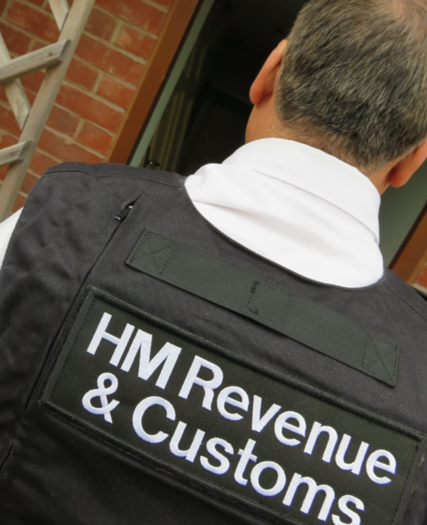 Op Halle HMRC officer searching