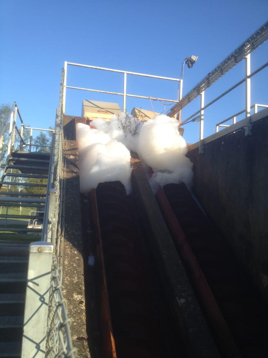 NSVA - Skumproblem Ekeby reningsverk