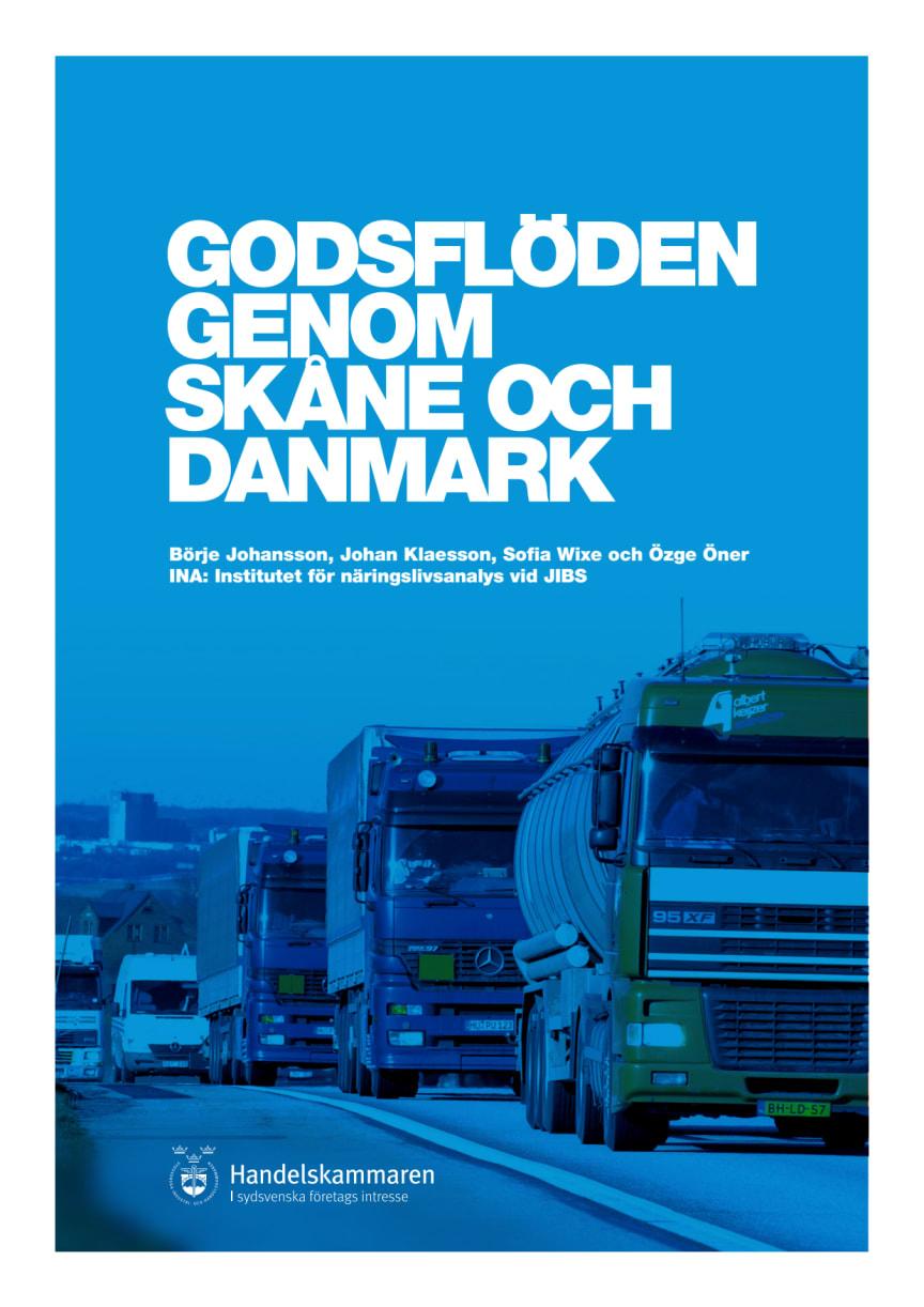 Godsflöden genom Skåne och Danmark