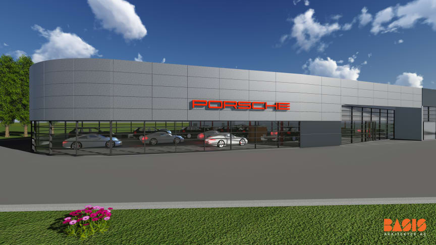 Illustrasjonsfoto Porsche Center Sør