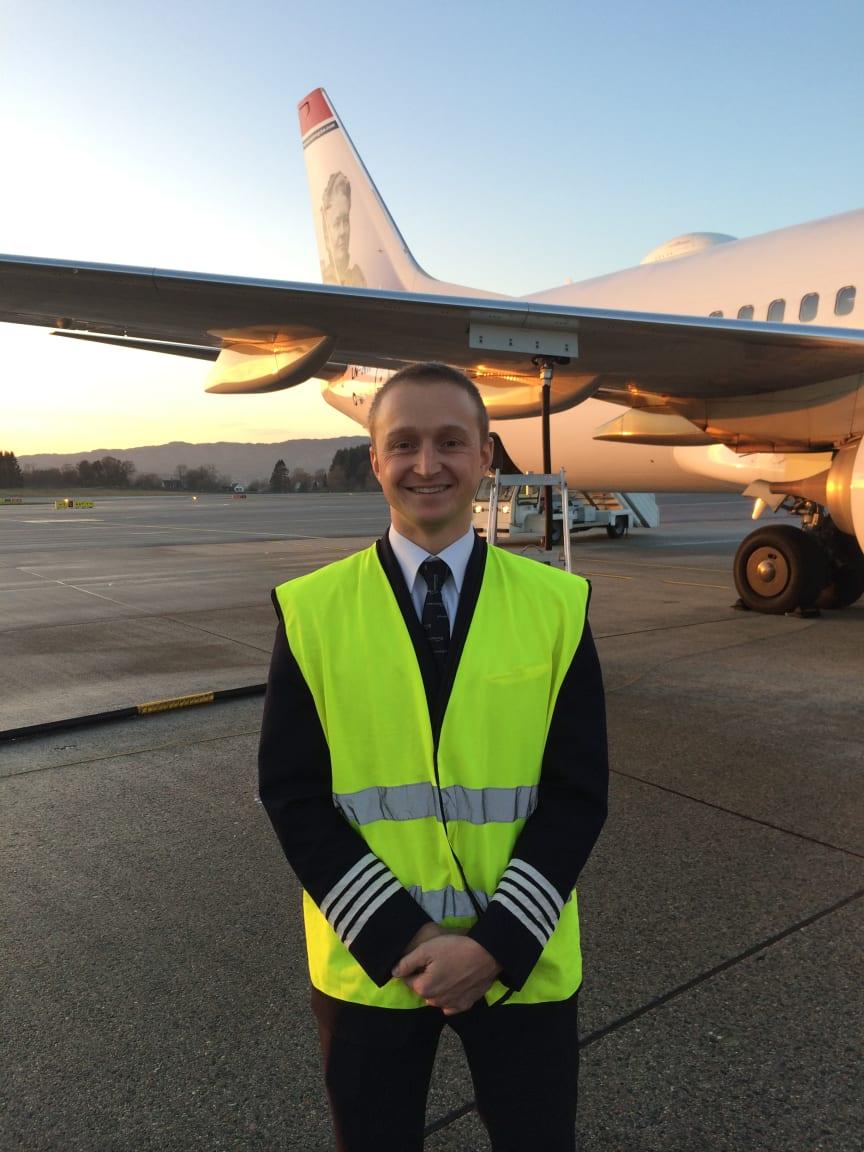 Biobrændstofflyvning