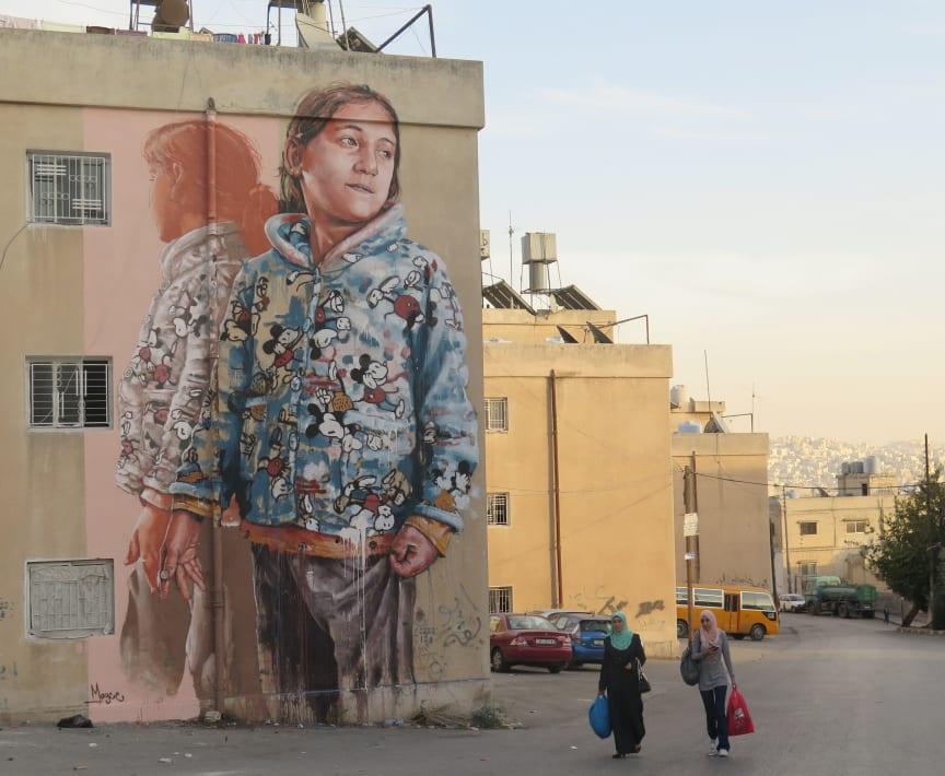 Fintan Magee - No Limit Street Art Borås