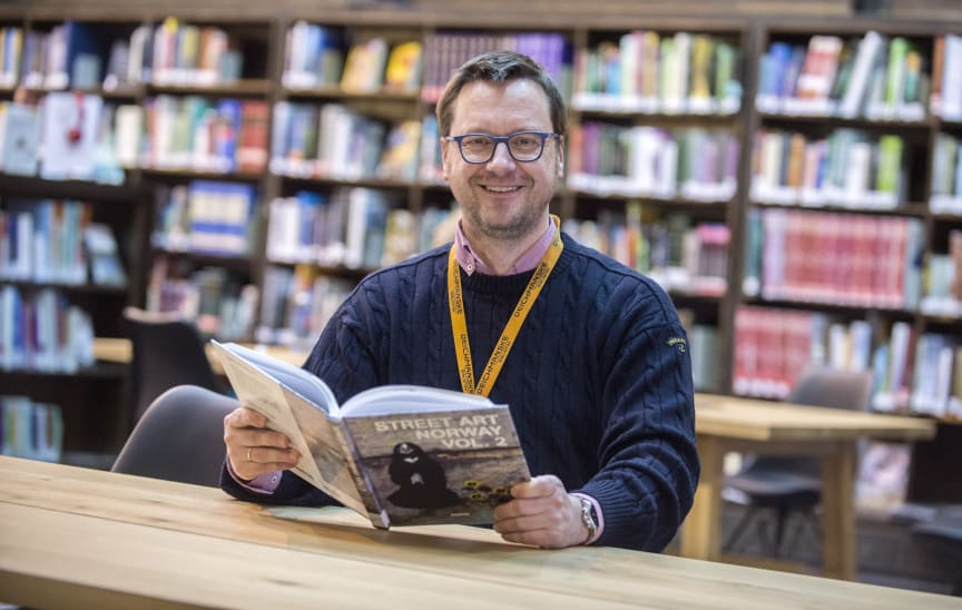Knut Skansen er konstituert biblioteksjef