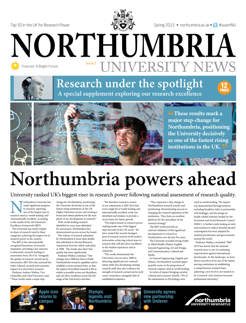 Northumbria University News Issue 5